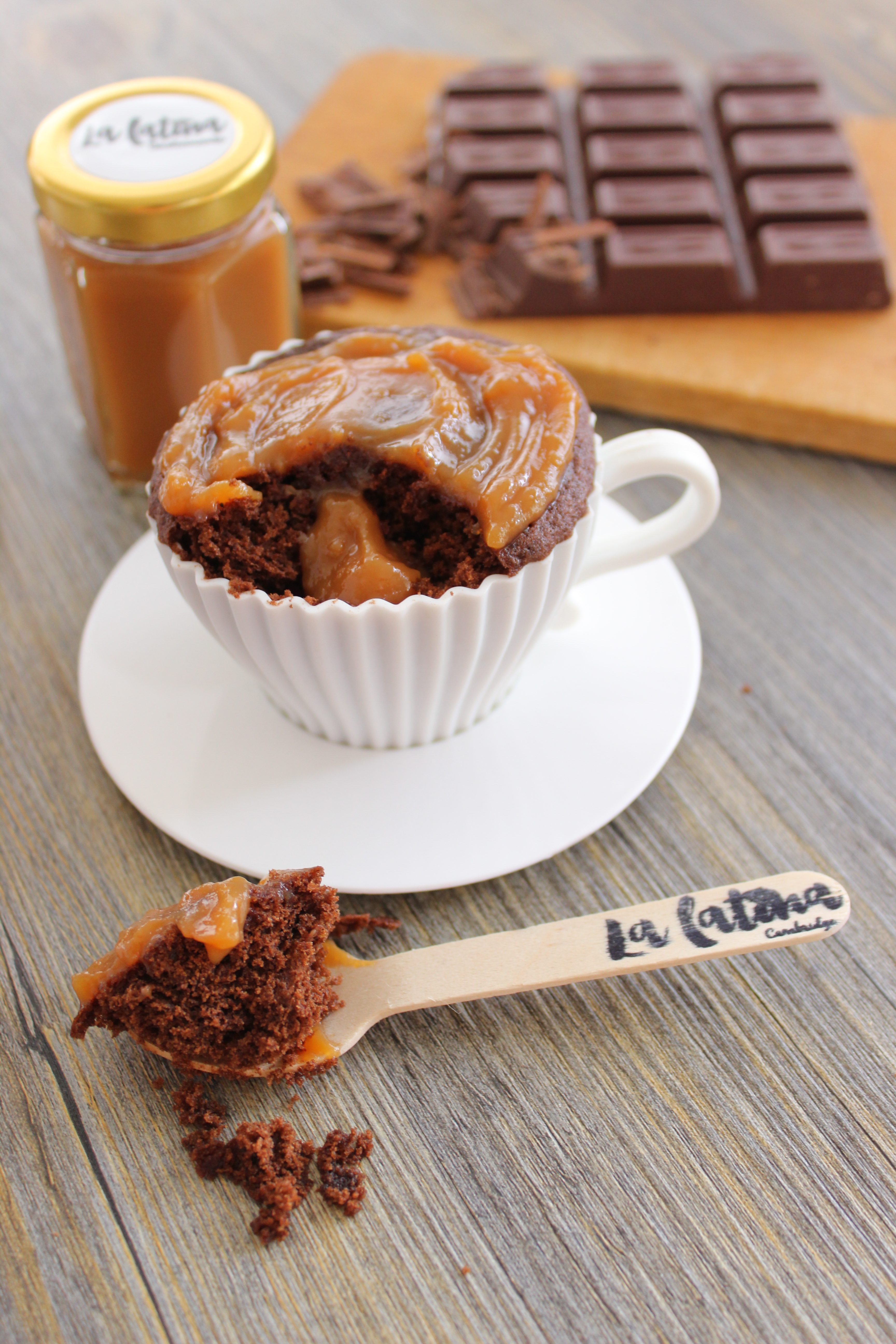 Chocolate Mug Cake Rubber