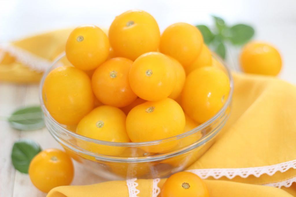Pomodorini ciliegino gialli