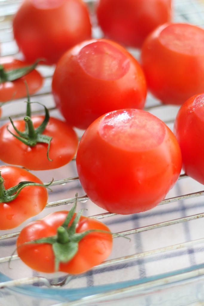 Pomodori su grata