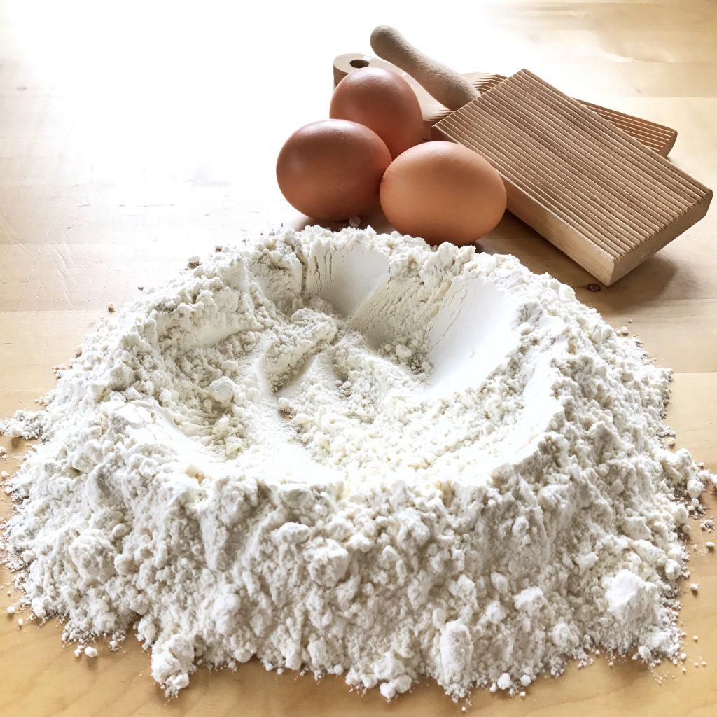 Farina e uova - procedimento gnocchi