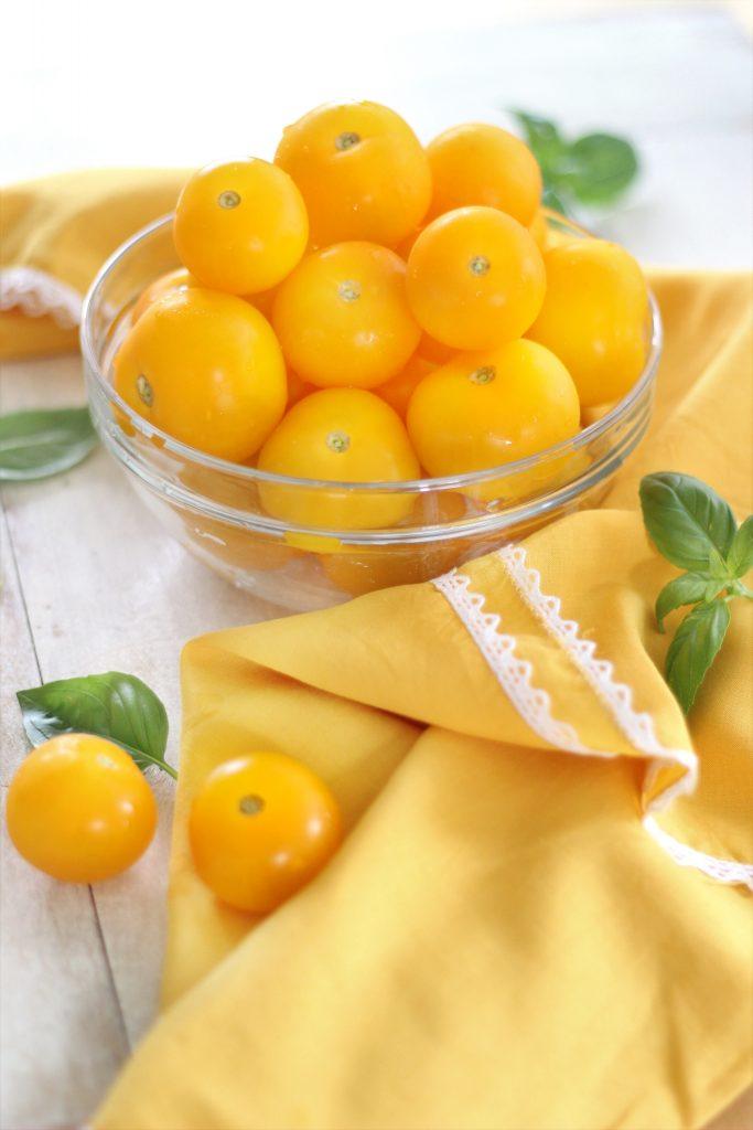 Pomodori dorati freshi