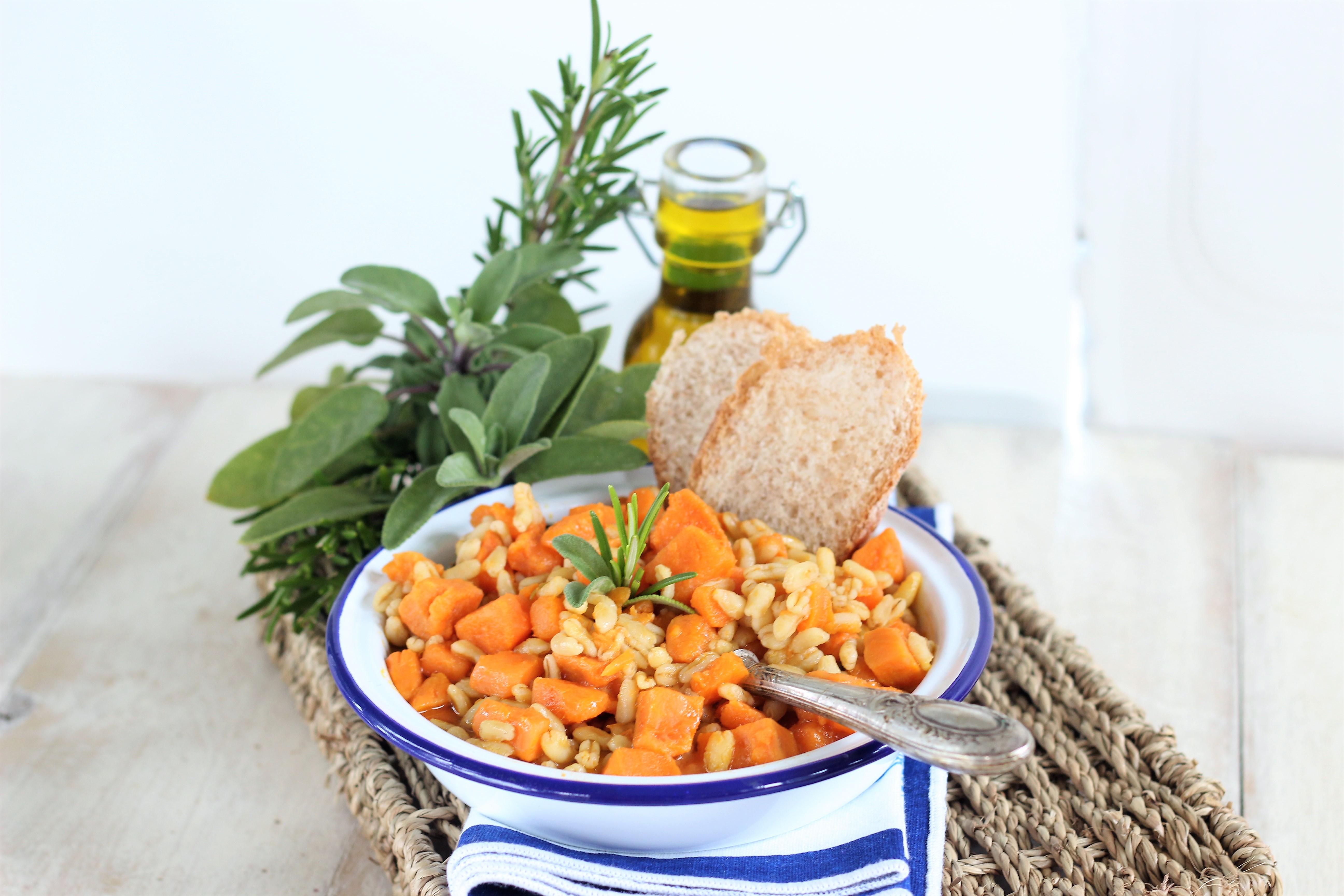 Una zuppa facile e veloce ideale per le prime giornate autunnali