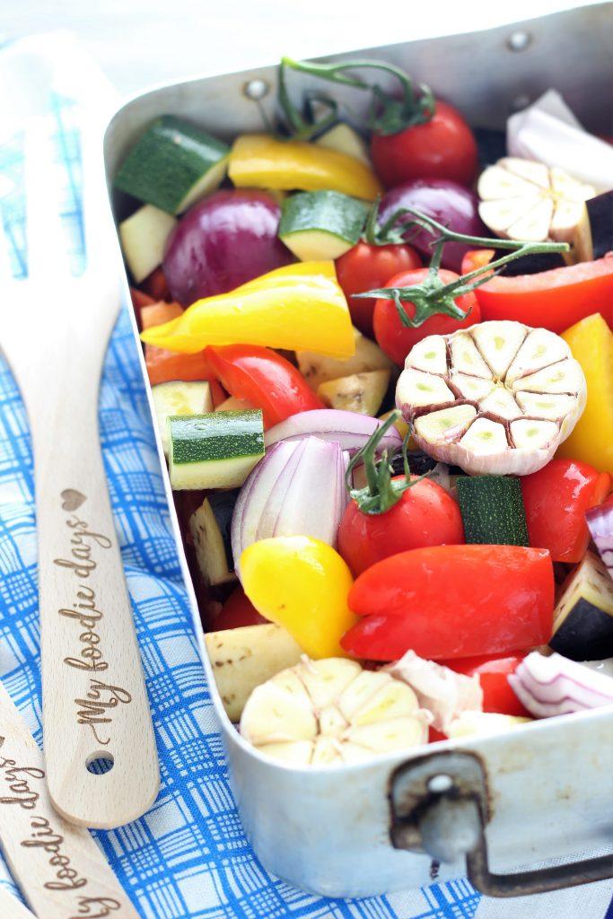 Mixed vegetable chunks