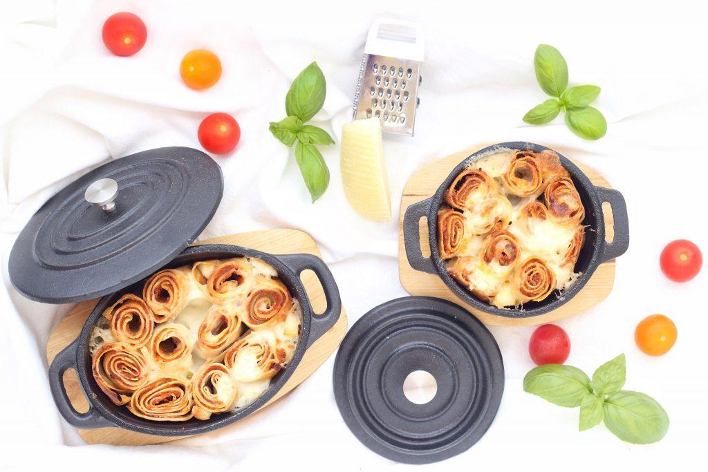 Crêpes al forno - flatlay