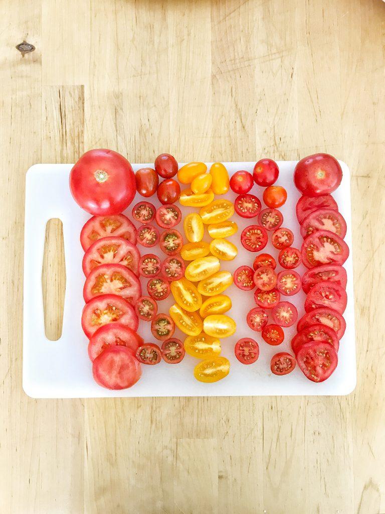 Ingredienti - Pomodori tagliati