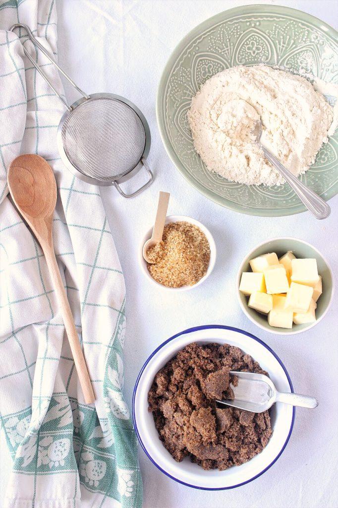 Cookies ingredients - flatlay
