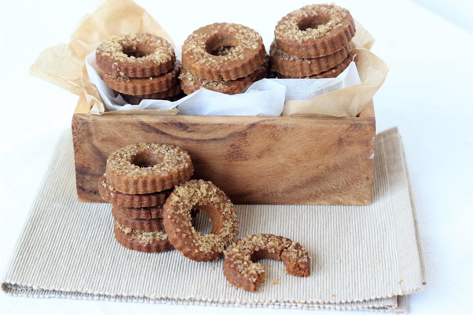 Muscovado sugar cookies
