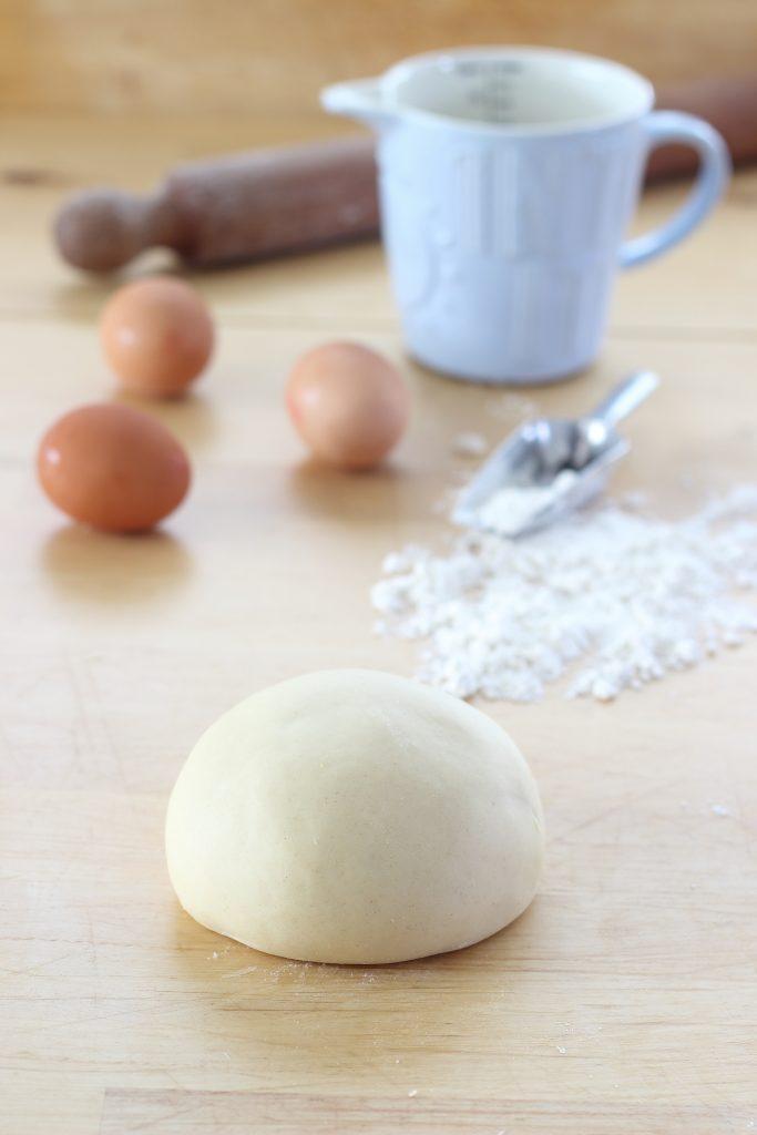 Pasta per strudel - lavorazione