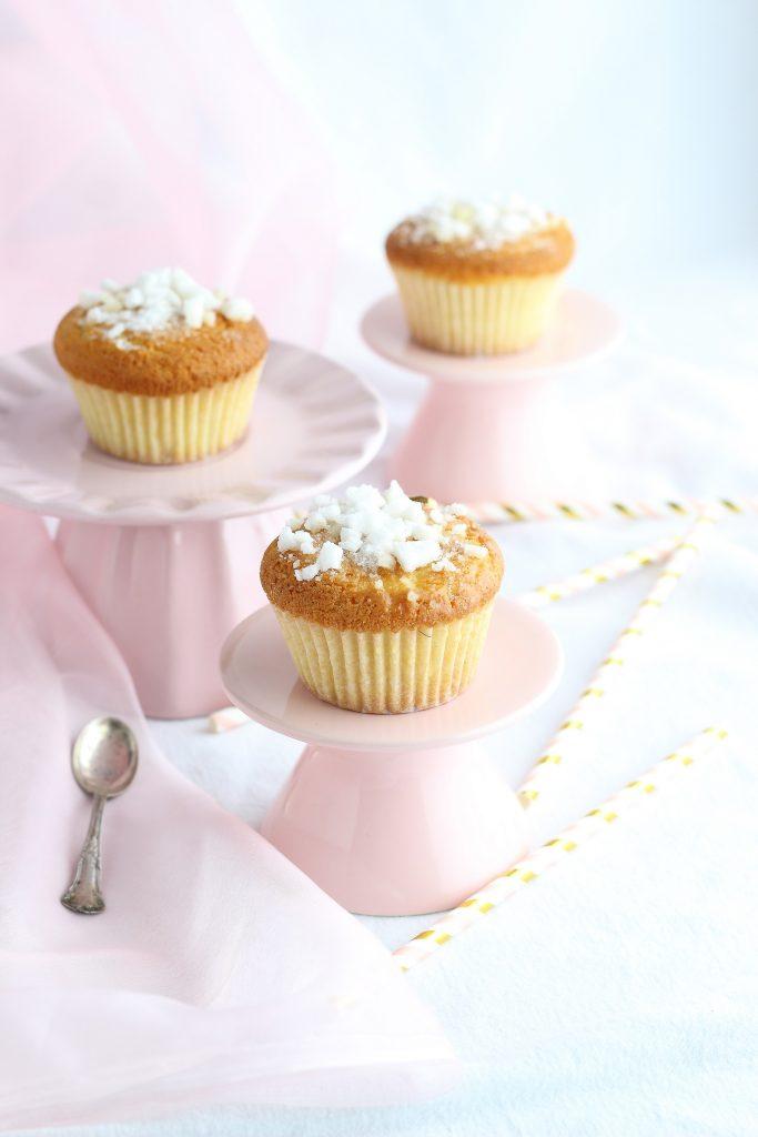 Doughnut muffin su alzatine