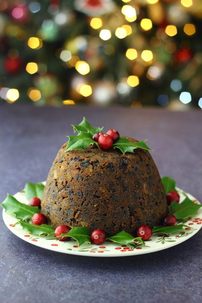 Pudding di Natale alle noci