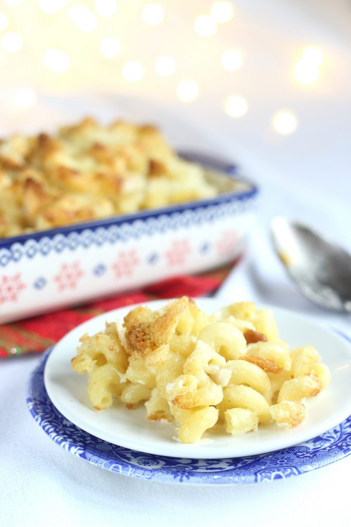 Mac n' cheese gratinato - porzione