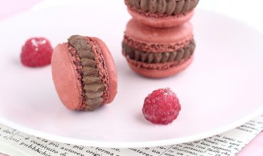 Macaron al cioccolato