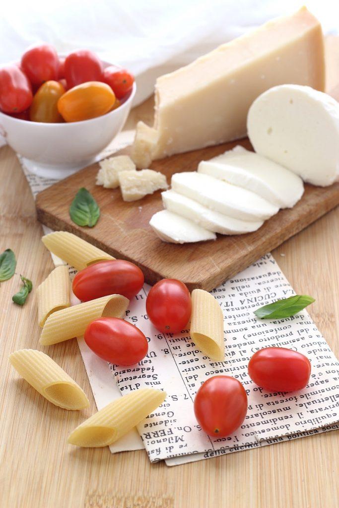 Ingredienti per pasta al forno