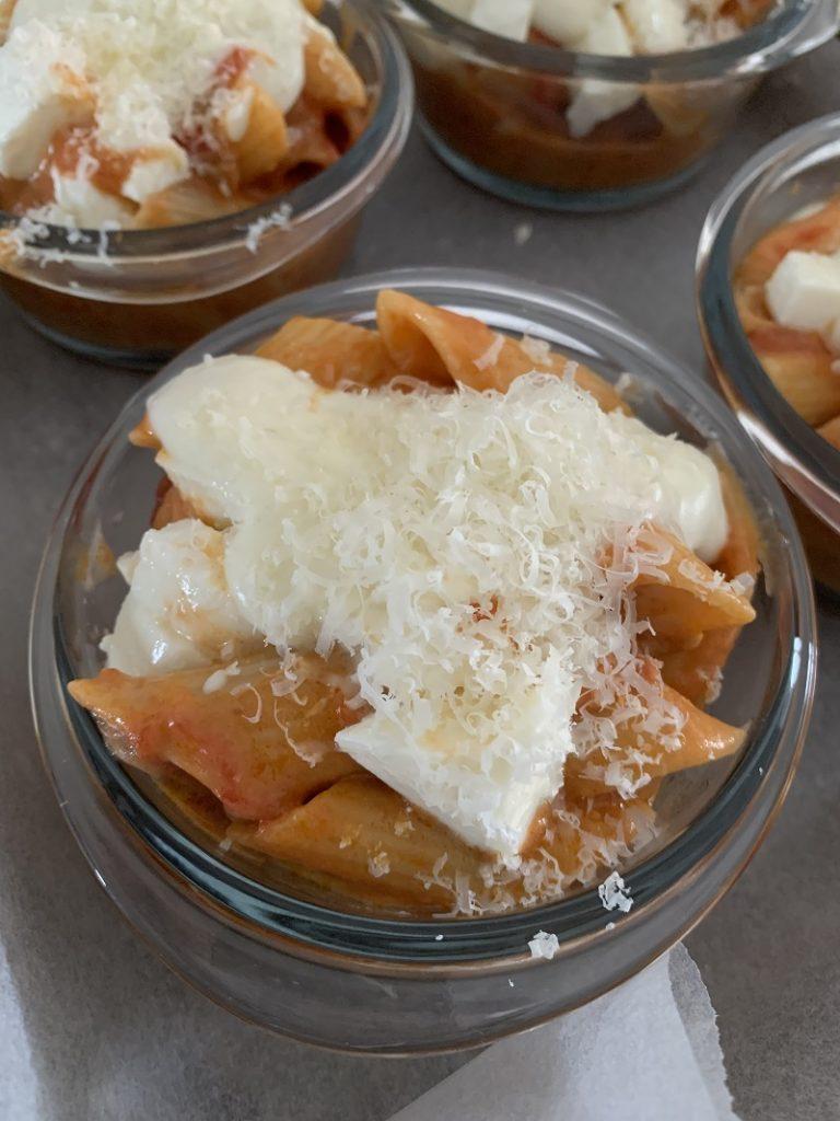 Procedimento - formaggio Parmigiano grattugiato