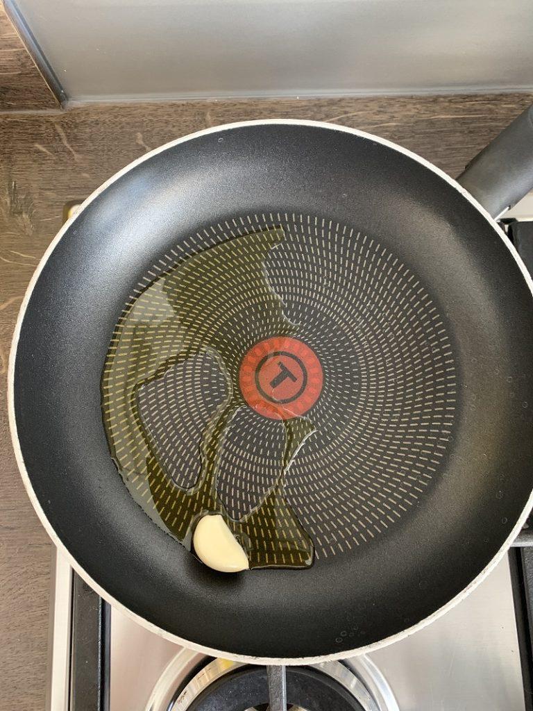 Procedimento - olio e aglio