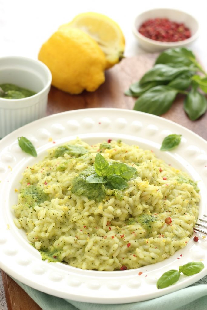 Risotto alle zucchine e limone