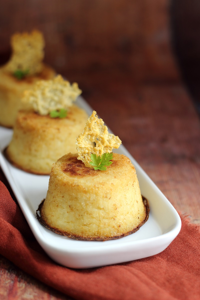 Mini tortini di patate e funghi