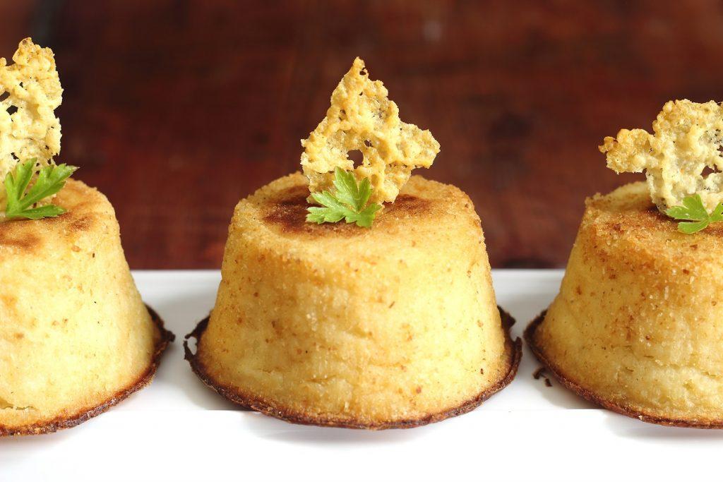 Mini tortino di patate, funghi e mozzarella - header
