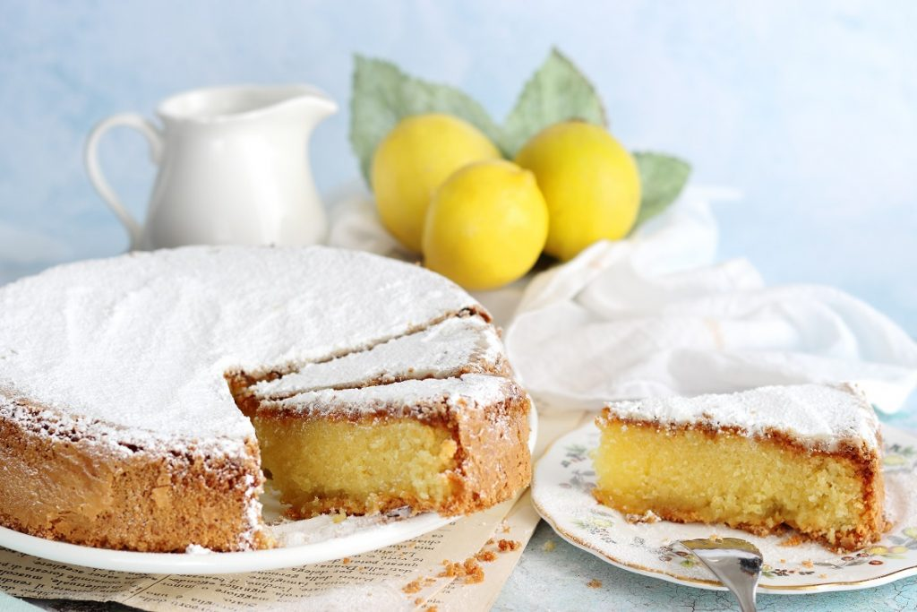 Torta caprese al limone - header