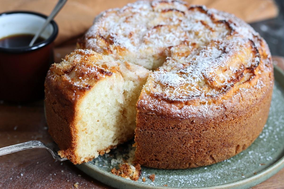 Torta cocco e mele - header