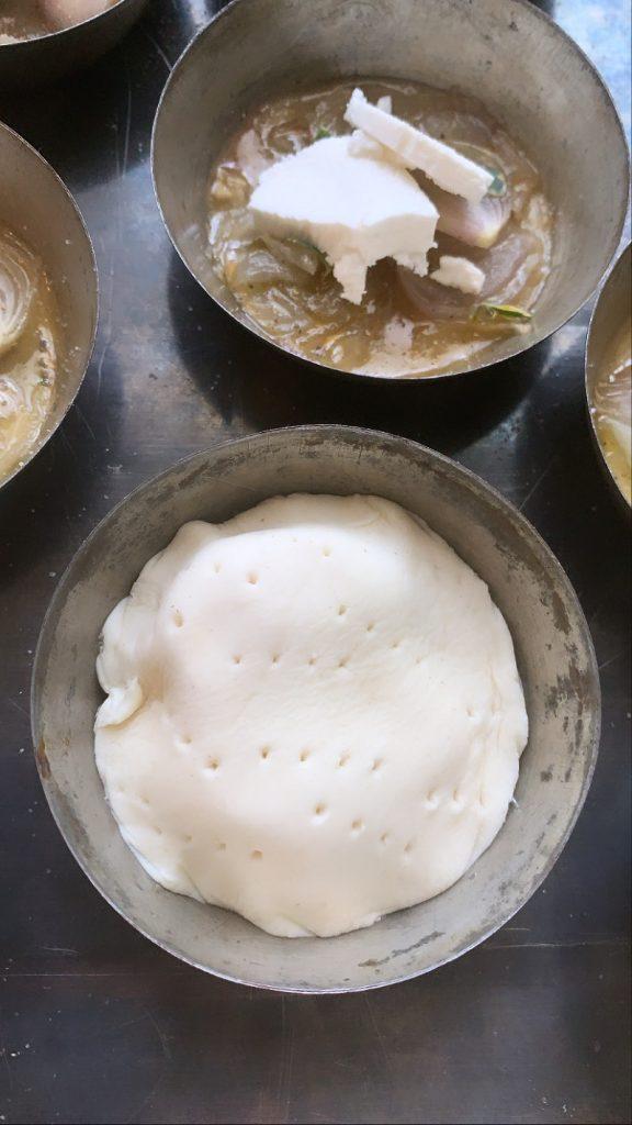 Pasta sfoglia bucherellata