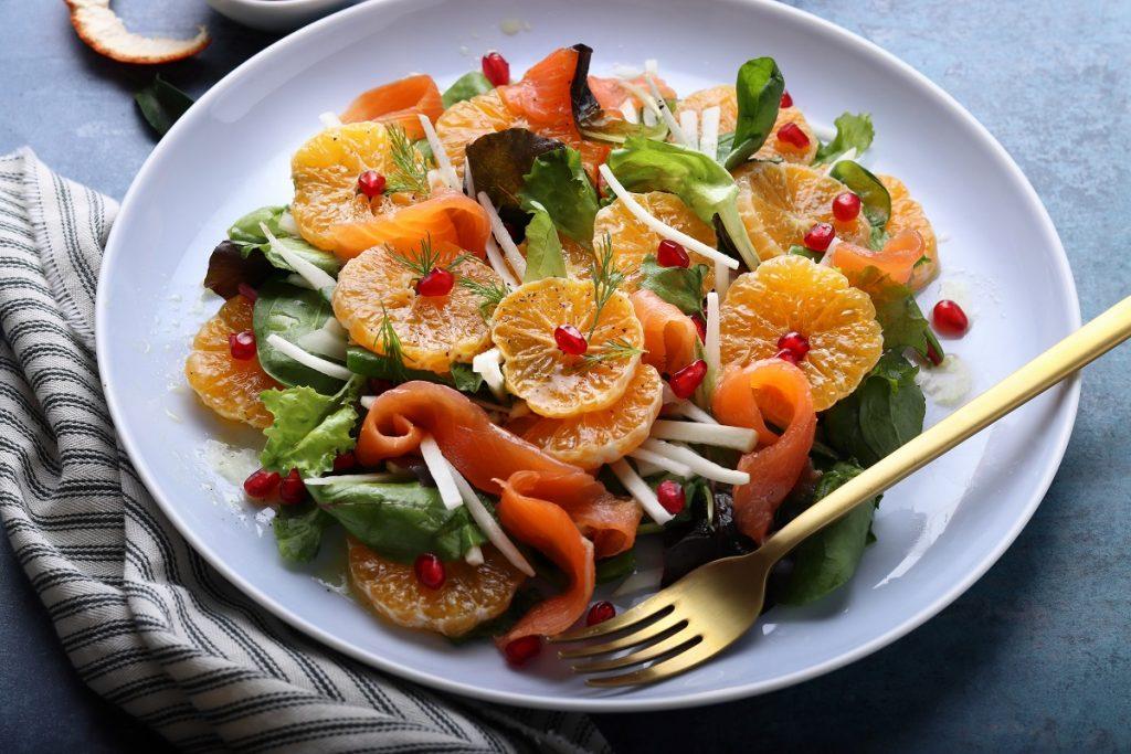 Clementine salad - header