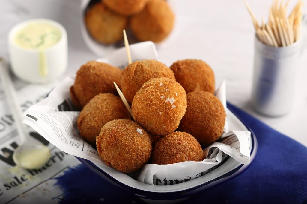 Polpette di lenticchie al curry - header