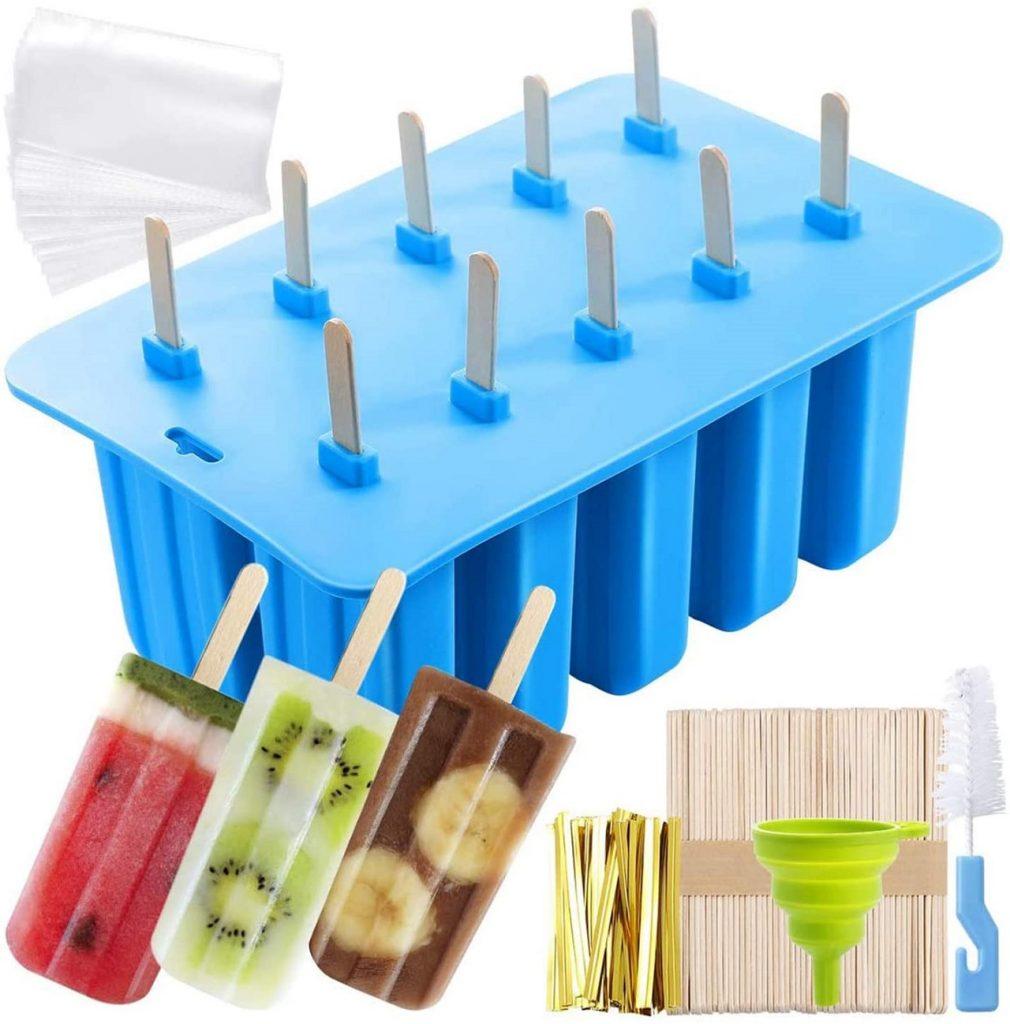 Stampi per stecco gelato in silicone morbido